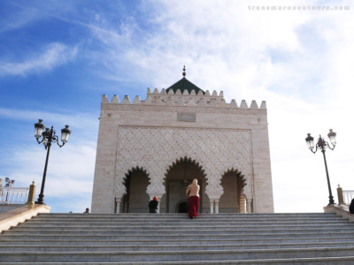 Trip to morocco - Hassan Tower Rabat